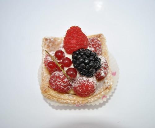 Rode vruchten taartje