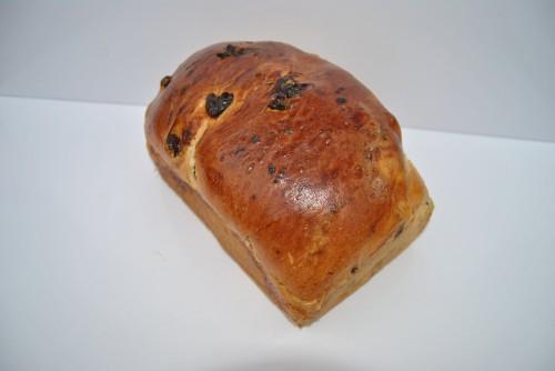 Klein rozijnenbrood