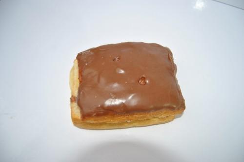 Crème koek met chocolade